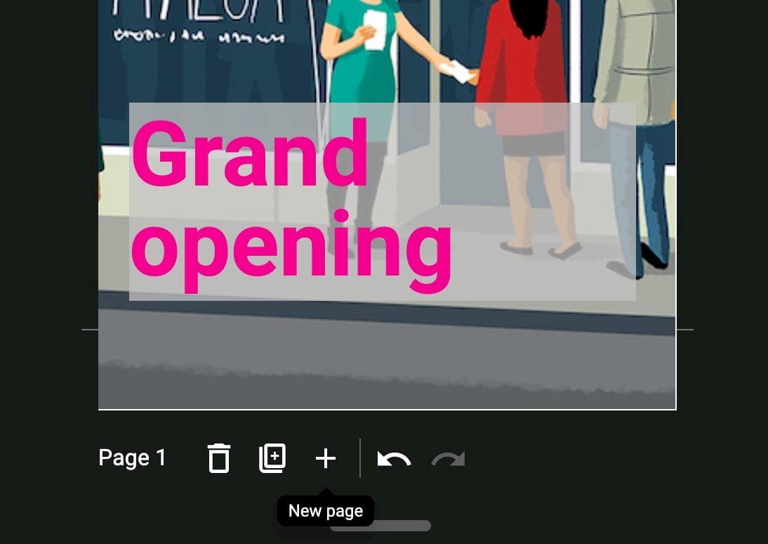 web story add new page