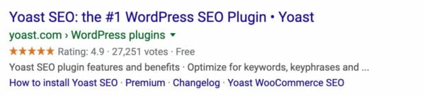 yoast seo ratings in google 2020