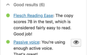 How to use the readability analysis in Yoast SEO