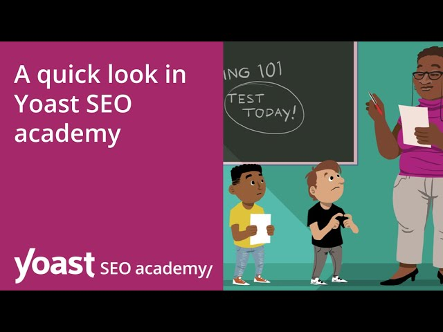 Get free access to all our SEO training courses with the Yoast SEO Premium plugin!