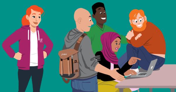 Community team illustration