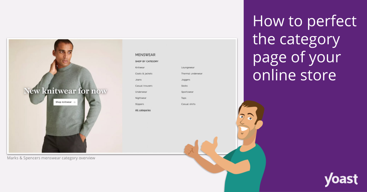 How to perfect the category page of your online store
