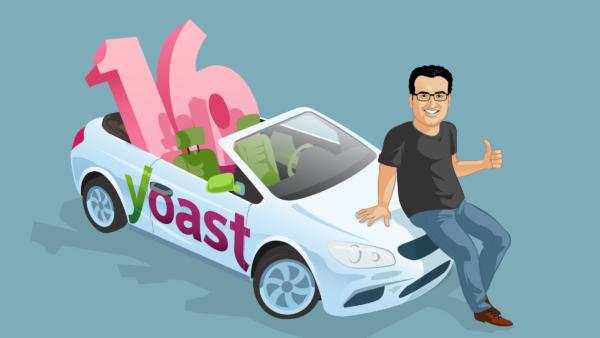 Yoast SEO 1.0 to 16.0 featured image