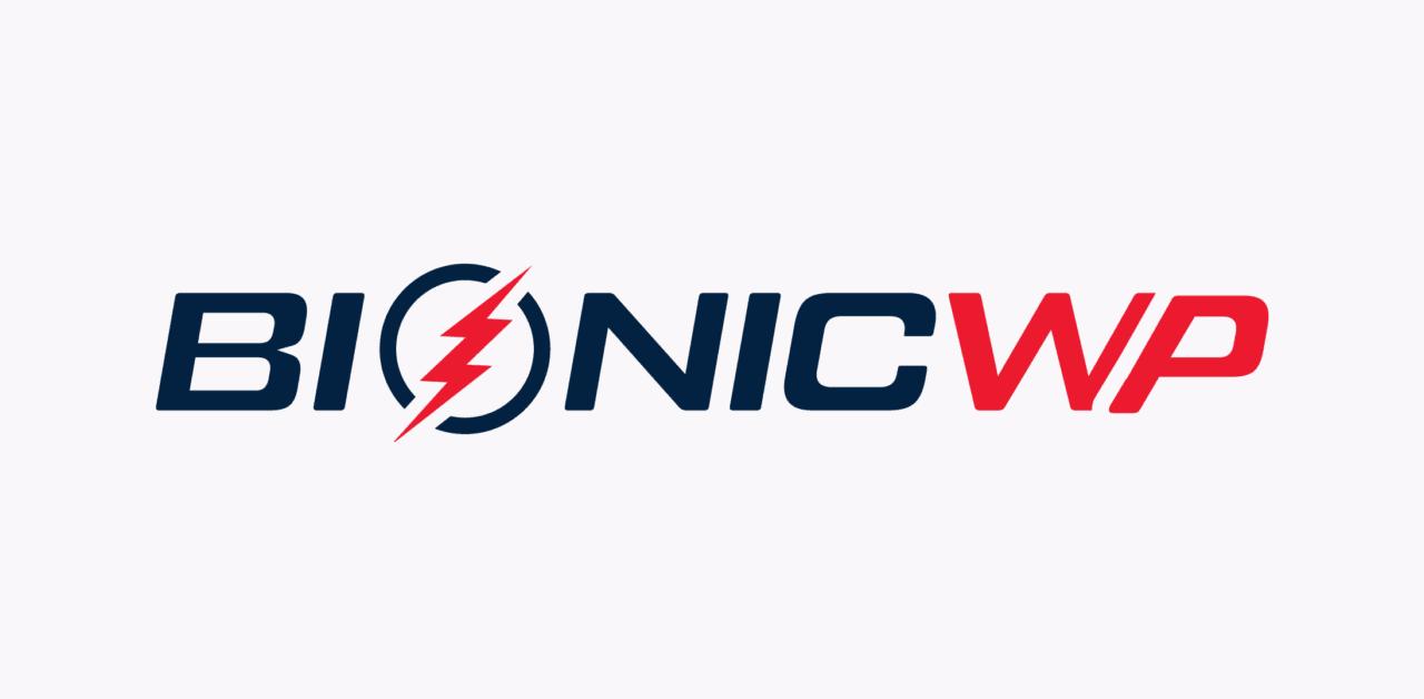 BionicWP logo on lightgrey background
