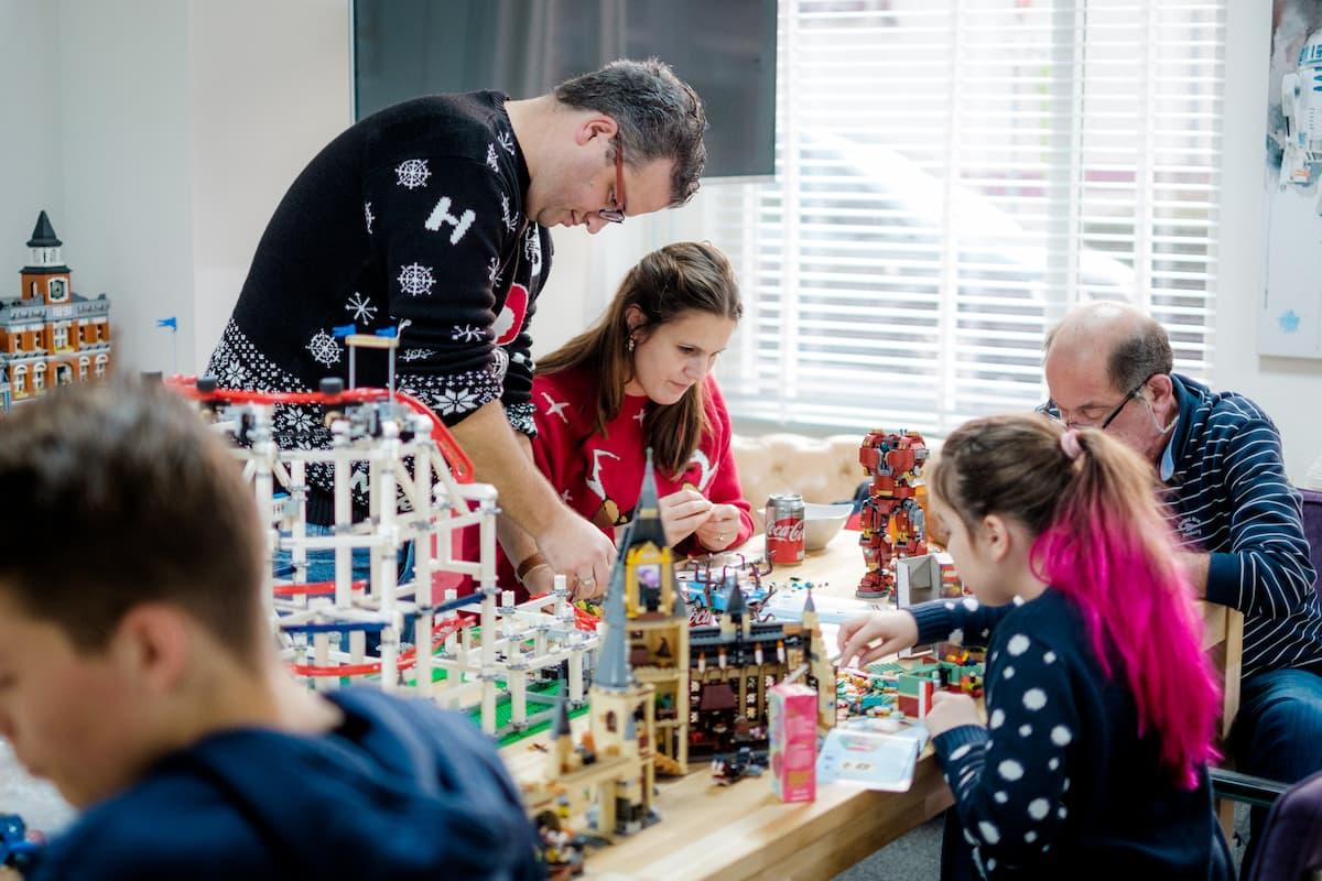 Yoast Lego building Day