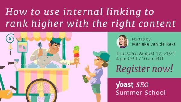 Summer school image internal linking higher rankings workshop