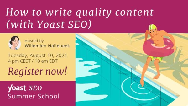 Summer school image quality content workshop