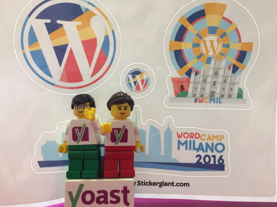 Lego at WordCamp Milano