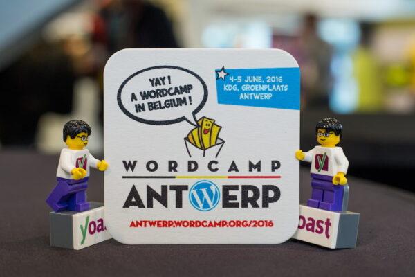 Lego at WordCamp Antwerp