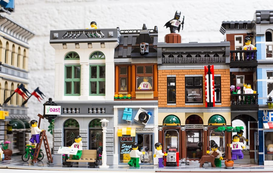 image of Lego building at the Yoast office