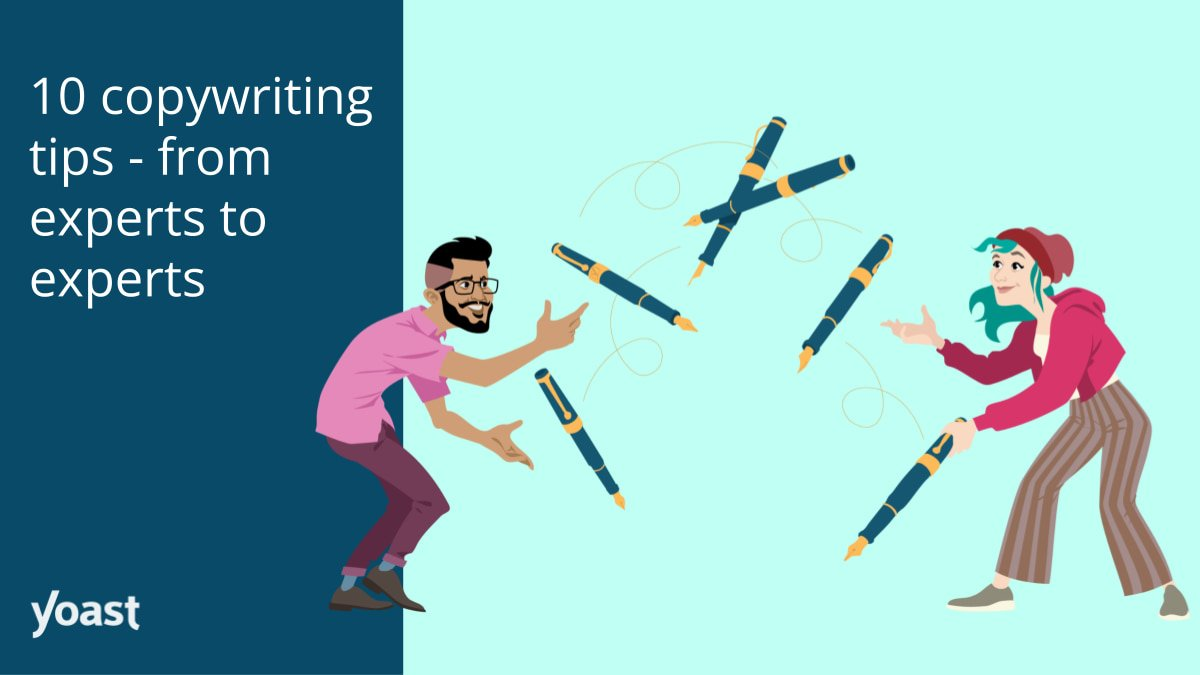 10 copywriting tips – from experts to experts