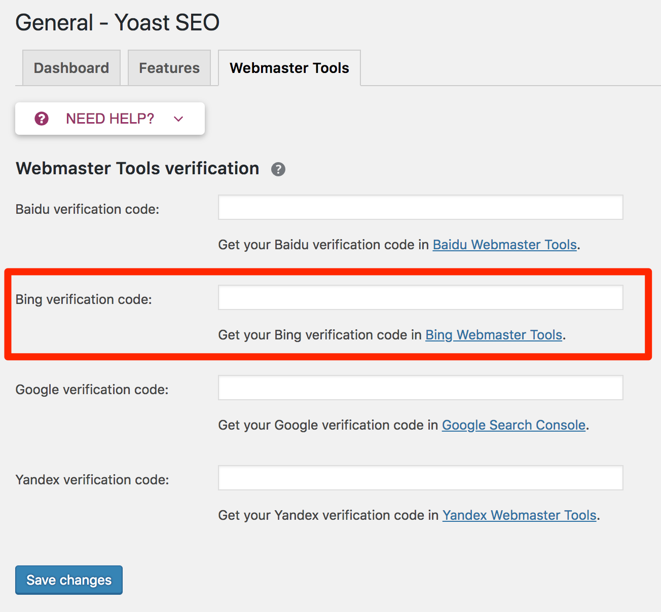 How To Add Your Website To Bing Webmaster Tools - Yoast Knowledge Base