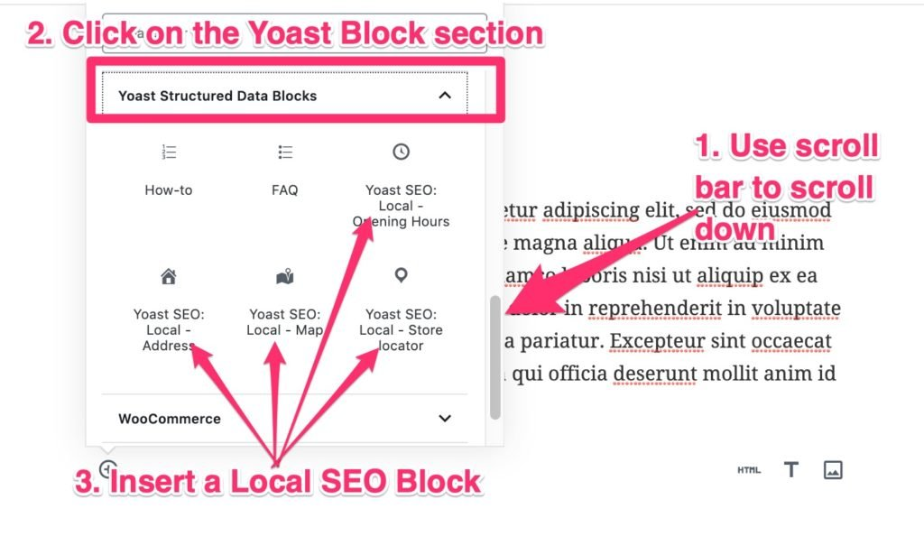 Yoast Structured Data Section