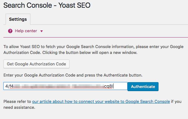 Search Console   Yoast SEO %E2%80%B9 Dev WordPress %E2%80%94 WordPress 2