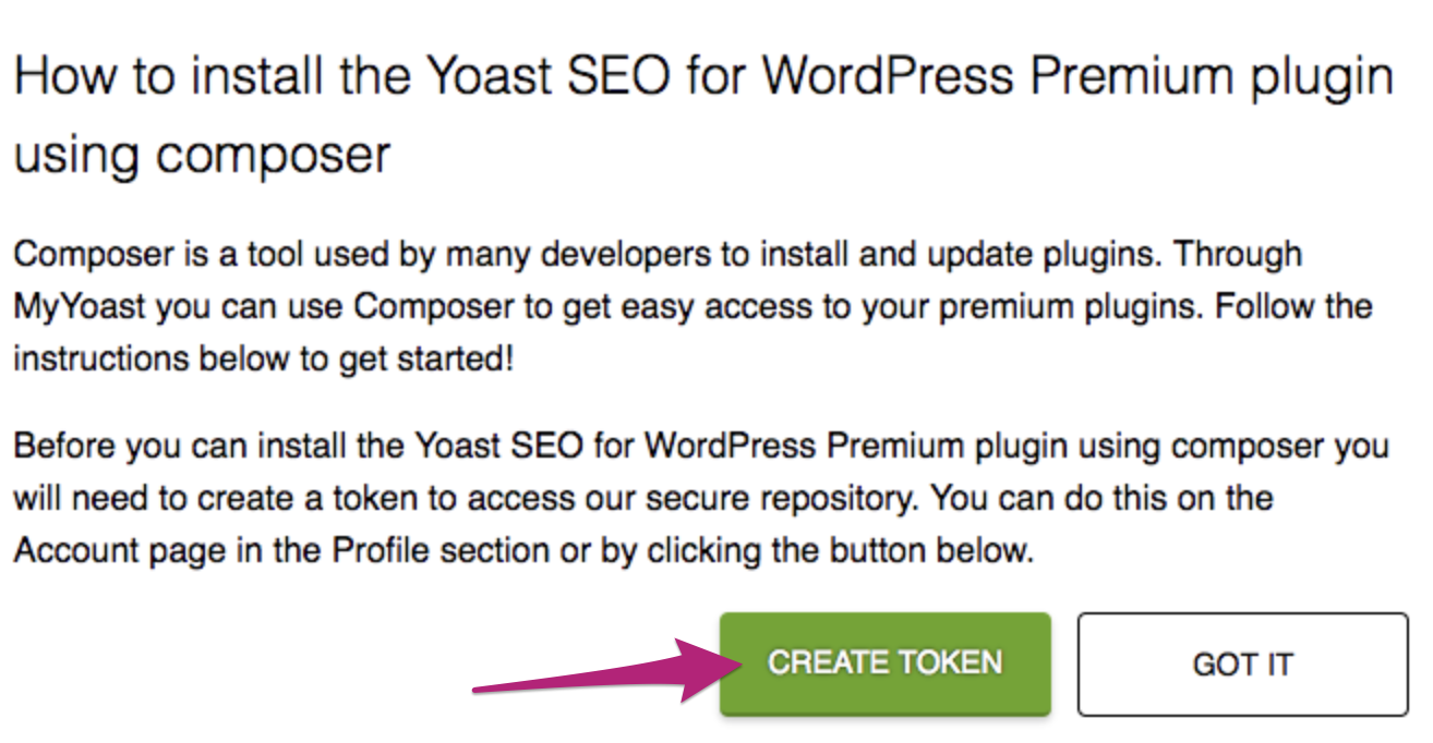 How to install Yoast Premium plugins or add-ons using