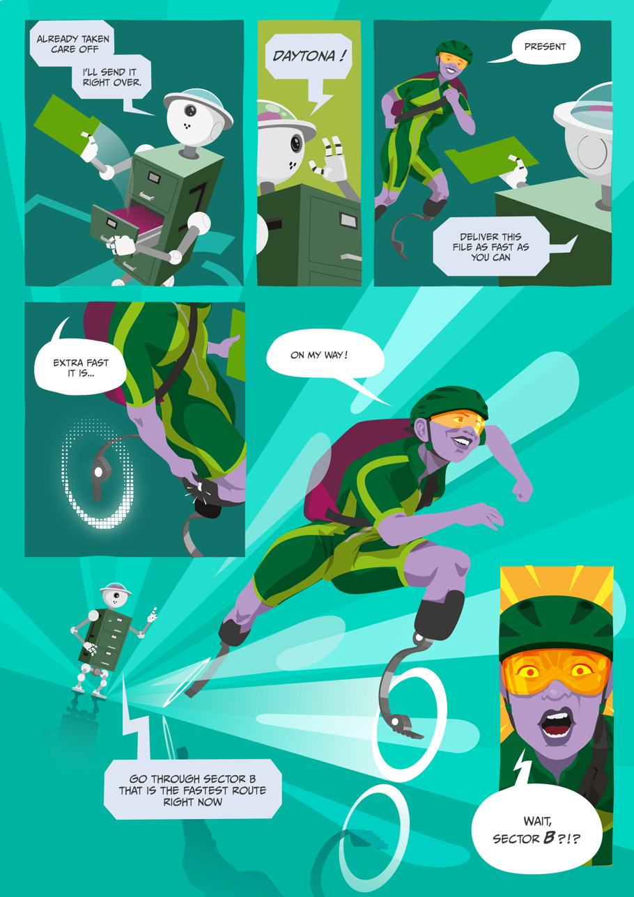 Indexables comic page 2